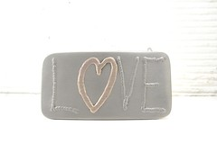 LOVE Belt Buckle