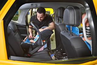 Crashtest Opel Meriva Kindersitz