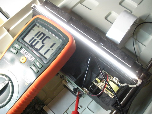 Voltage to drive cold cathode