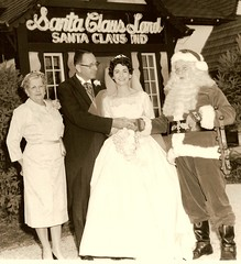 Bill & Pat Koch's wedding day