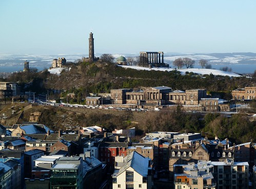 Calton Hill Skyline, Edinburgh