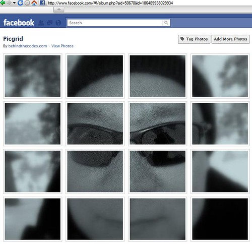 Facebook Grid Picture