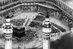 The Sacred Mosque | Al-Masjid al-arm .. at Mecca (iNaif) Tags: world people grand mosque sacred annual period mecca largest hajj | gatherings  the      almasjid       alarm