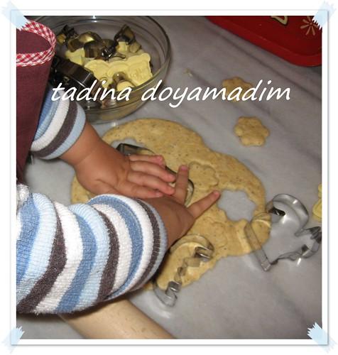 kurabiye yaparken