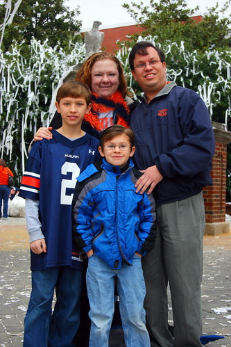 1.11.11 {Rolling of Toomer's Corner: The Day After}