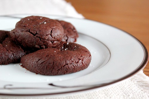 chocolate salted caramel cookies