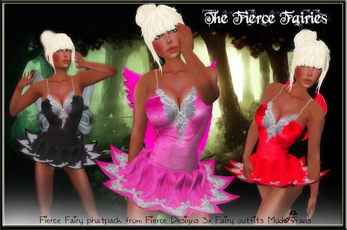 The Fierce Fairy phatpack