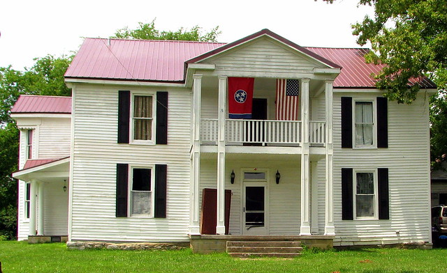 Old house in Auburntown, TN