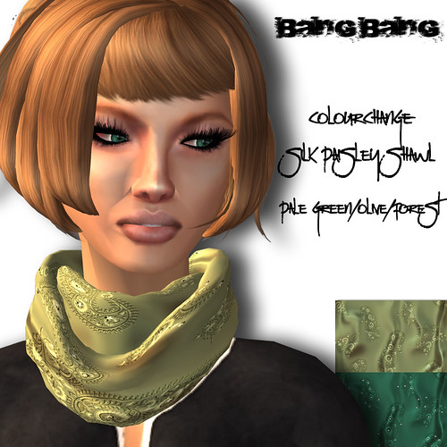 Bang Bang - Silk Paisley shawl