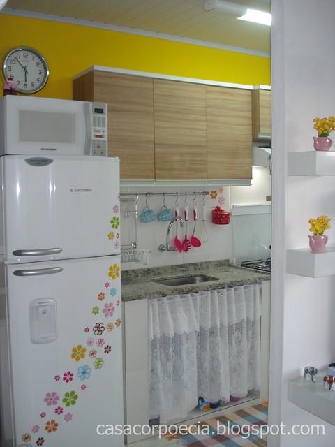 para o amarelo podem confessar Ficou linda a minha cozinha não é
