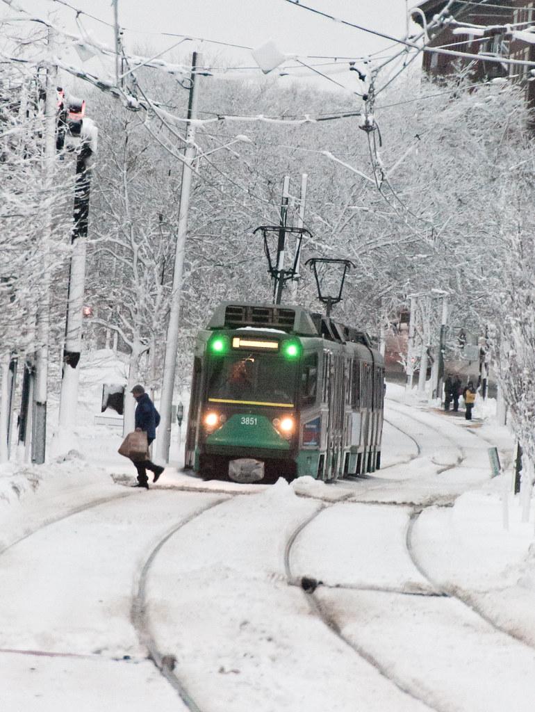 green line crossing