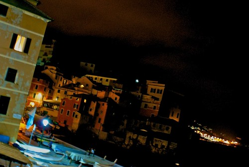Boccadasse by night
