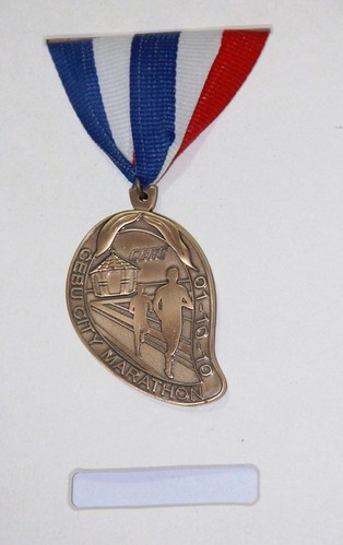 Cebu Marathon Medal