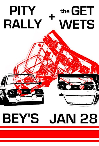 Pity Rally & the Get Wets, Bey's, January 28th 2011