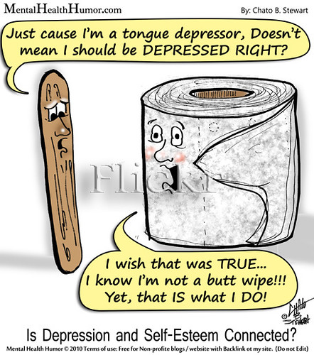 Image of: Mental Health 2010 Mental Health Humor Is Depression And Selfesteem Connected Health News Florida Mental Health Humors Most Interesting Flickr Photos Picssr