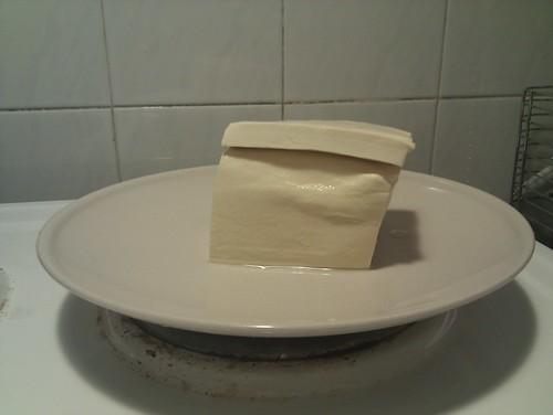 Bloc de tofu