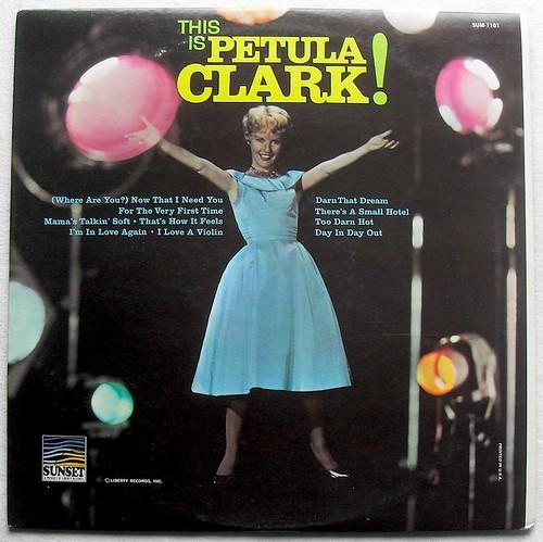1960s THIS IS PETULA CLARK vintage LP record vinyl album