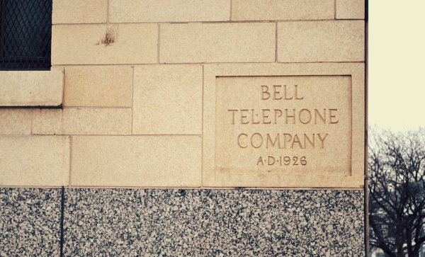 Bell Telephone Co 1926