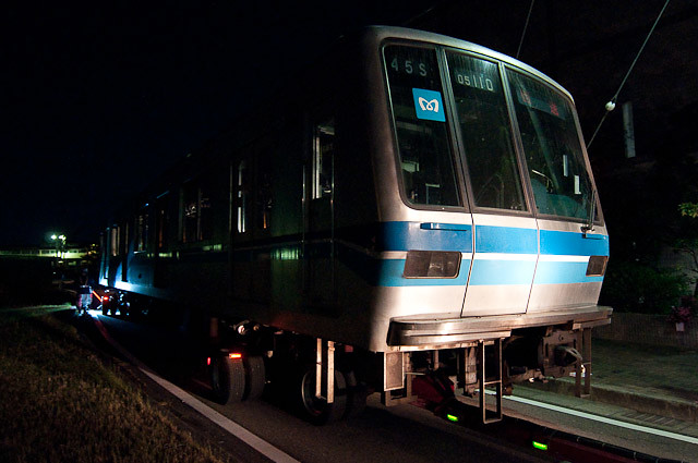東京メトロ東西線05系05-110F 05-110,05-210陸送