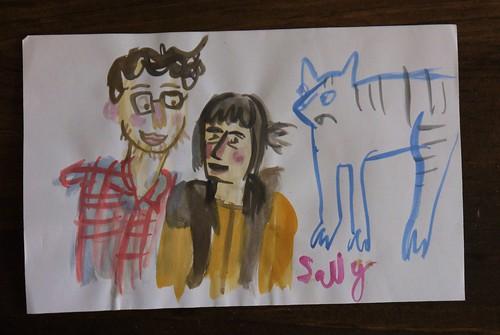 Portrait by Sally Bloodbath