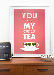 You Are My Cup Of Tea (h4ndz) Tags: china vintage leaf swedish retro tango nordic atomic porcelain scandinavian midcenturymodern stiglindberg bersa catherineholm cathrineholm