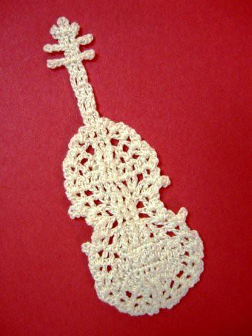 Ravelry Violin Motif Pattern By Chinami Horiba