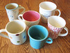 My current favorite mugs (winemakerssister) Tags: favorite coffee mugs tea swap ravelry
