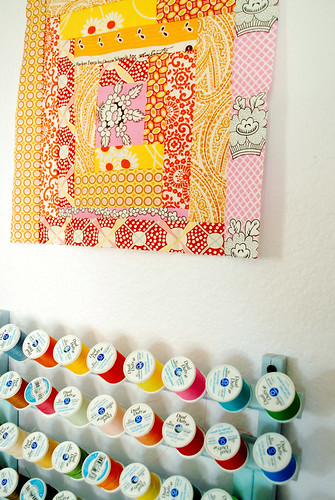 quilt block from Sarah (Green Clogs)