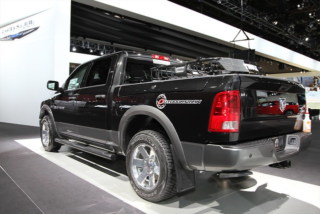 auto show truck north detroit pickup international american hd ram 2500 2011 outdoorsman