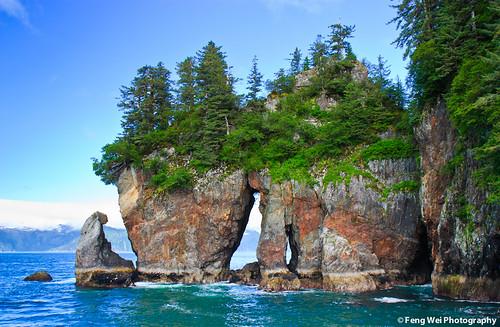 Window Rock, Kenai Fjords National Park, Alaska USA