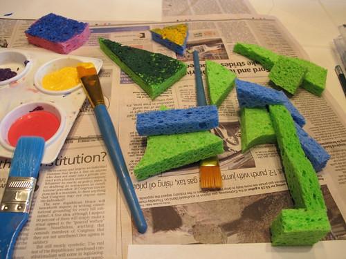 Sponge Painting Tools
