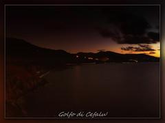 Golfo di Cefal by night (joe00064 -- moved to 500px) Tags: italy night sicily sicilia cefal joe00064