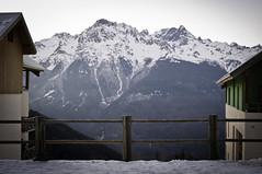 La montagne en lignes et en couleurs #15 (Adren) Tags: mountain snow montagne alpes couleurs nb neige mont lignes alpedhuez picblanc graphisme formes rousses vaujany ozenoisans