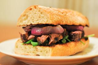 The Most Evil Steak Sandwich
