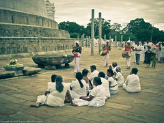 Поломники и церемония