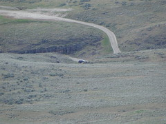 My car again from Yakima Skyline trail.