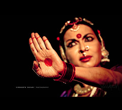 Mallika Sarabhai. (SiddharthDasari) Tags: india heritage nid beautiful canon design dance pattern hand bokeh expression south famous culture dancer jewellery institute stop ornaments national mallika tradition f4 ahmedabad bharatnatyam bharatanatyam spic danceuse 70200l sarabhai canonrebelxs paldi macay canoneos1000d siddharthdasari