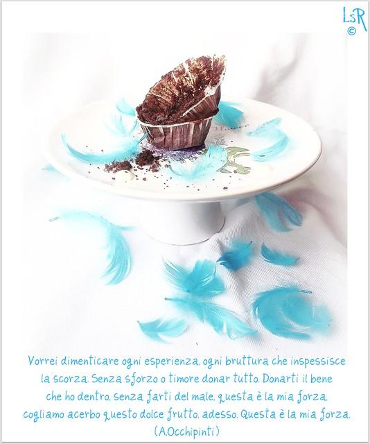 cupcakes al ciocco fondente con frosting al miele