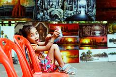 little girl ( / LINUS) Tags: film girl kid nikon cambodia f100 siemreap angkor
