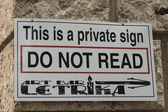 Creativity (shottwokill) Tags: europe montenegro kotor nikon signs 28300 creativity imagination d800 humor graphic text