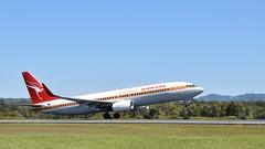 Qantas | Boeing 737-800 | Retro Roo 1 James Strong VH-XZP | OOL YBCG (coghilla) Tags: qantas | boeing 737800 retro roo 1 james strong vhxzp ool ybcg