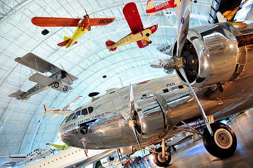 Dulles Air Museum planes