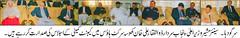 Pic news 30-11-2010 (Daily Rafaqat) Tags: club daily press tasneem sagar rizwan sargodha fedral quraishi rafaqat manister bhalwal sadidi