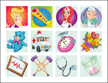 free Doctor Love slot game symbols