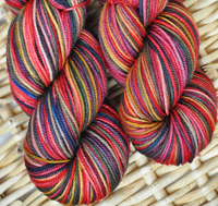 """Festive"" on Sundrop superwash (sport/dk weight) *Sale*"