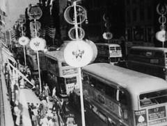 Oxford street 1953. London buses (Ledlon89) Tags: bus london transport oxfordstreet lt daimler 1953 coronation parkroyal londonbus vintagebuses aecregent rtbus