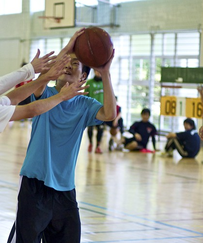 Basketball - Manos por todas partes