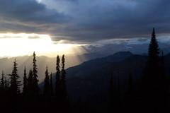 Sunset on Mt. Raineer