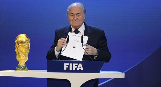 FIFA Joseph Blatter Qatar 2022