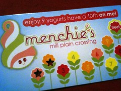 Menchies Mill Plain Crossing Frozen Yogurt in Vancouver WA